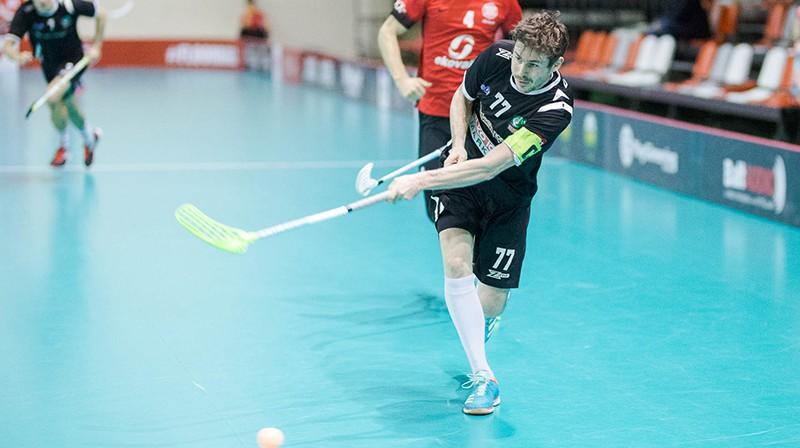 Pāvels Semjonovs. Foto: Floorball.lv