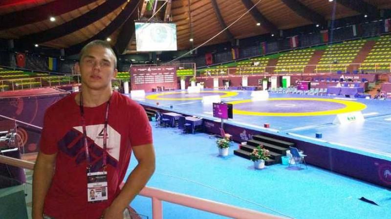 Ivars Samušonoks. Foto: Latvijas Cīņas federācija