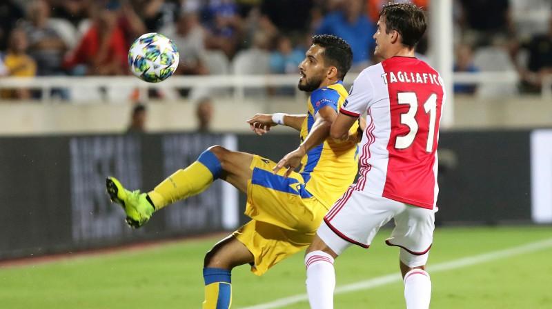 """Nikosijas APOEL pret Amsterdamas """"Ajax"""". Foto: AFP/Scanpix"""