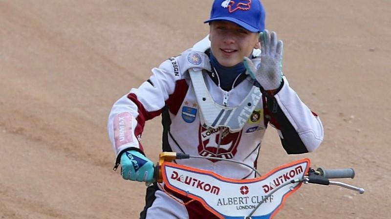 "Ernests Matjušonoks uzvarēja ""Nice Challenge"" posmā Daugavpilī."