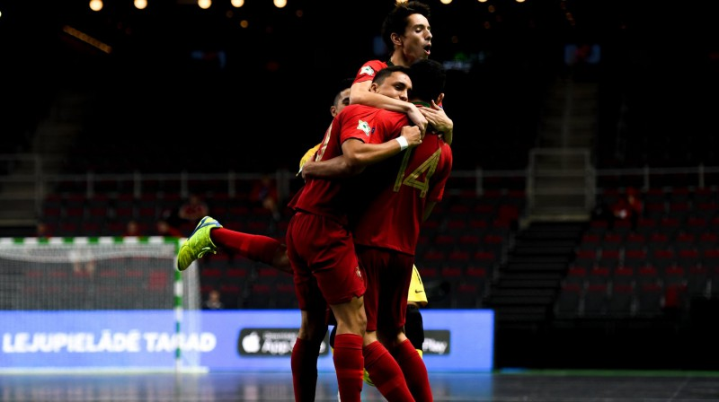 "Portugāles prieki ""Arēnā Rīga"" / Foto: UEFA.com"