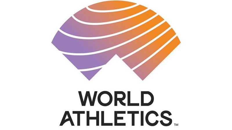 """World Athletics"" logotips"