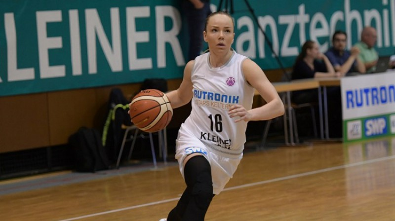 Ilze Jākobsone. Foto: FIBA