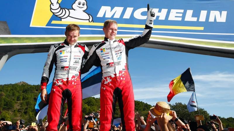 Ots Tanaks. Foto: TOYOTA GAZOO Racing WRC