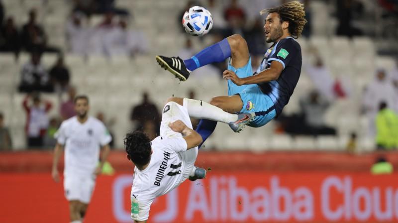 """Dohas """"Al Sadd"""" pret Jaunkaledonijas """"Hienghène Sport"""". Foto: AFP/Scanpix"""