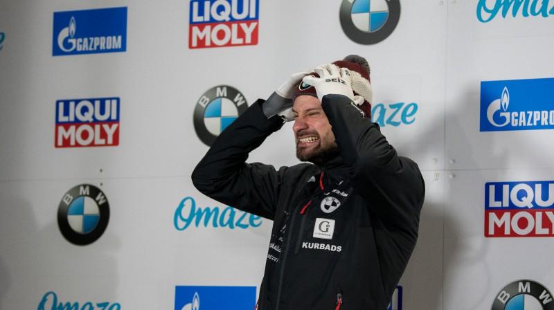 Martins Dukurs. Foto: Viesturs Lācis/bobslejs.lv/IBSF