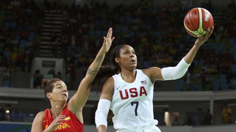 Maja Mūra 2016. gada Rio spēlēs. Foto: Reuters/Scanpix