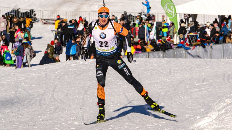 Andrejs Rastorgujevs. Foto: Latvijas Biatlona federācijas Facebook profils