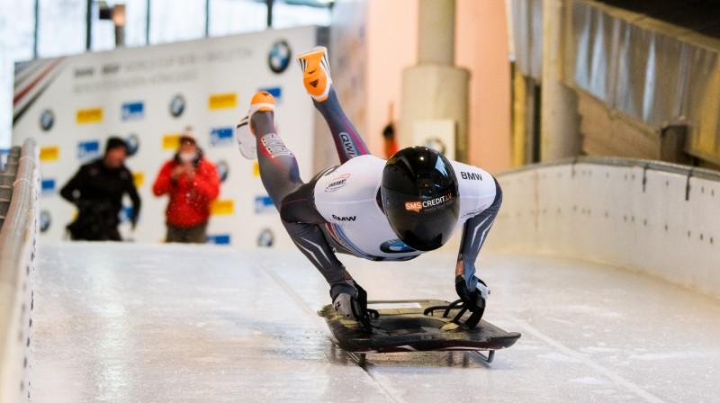 Tomass Dukurs. Foto: Viesturs Lācis/bobslejs.lv