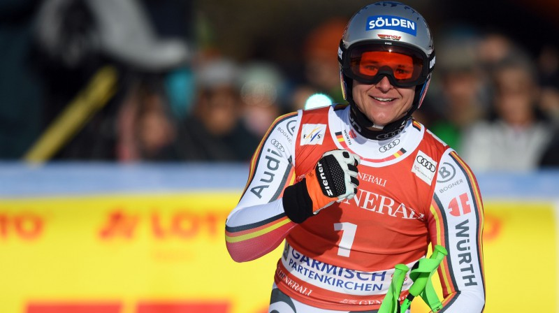 Tomass Dresens svin ceturto karjeras uzvaru. Foto: AFP/Scanpix.