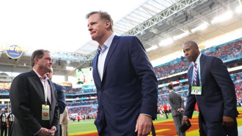 NFL komisārs Rodžers Gudels. Foto: AFP/Scanpix