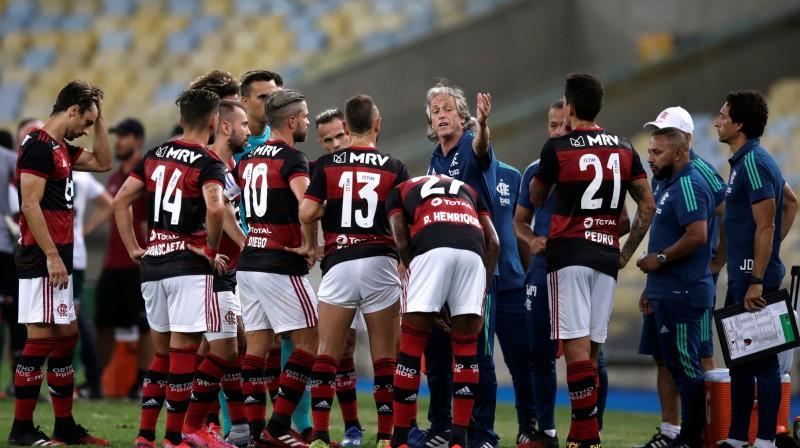 """Flamengo"" komanda. Foto: Reuters/Scanpix"