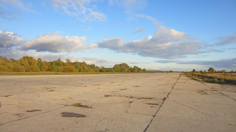Rumbulas lidlauka skrejceļš. Foto: citariga.lv
