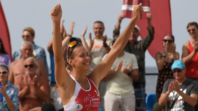 Tīna Graudiņa. Foto: Latvijas Volejbola federācija