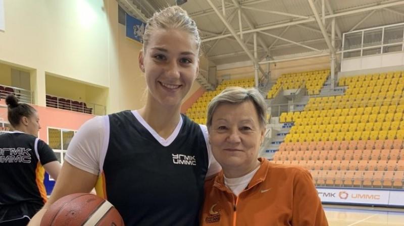 Marija Popova un Olga Korosteļova. Foto: UGMK
