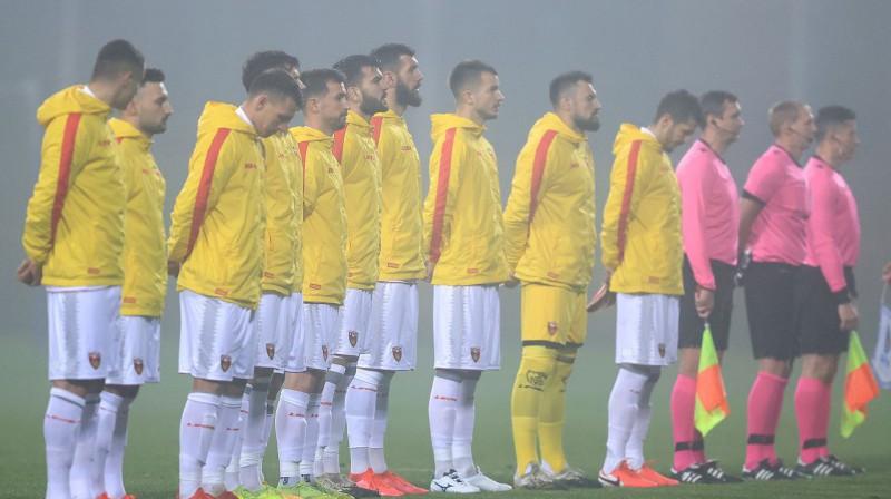 Spēles pret Latviju Melnkalnes futbolistus cīņā sauks jauns treneris. Foto: PA Images/Scanpix