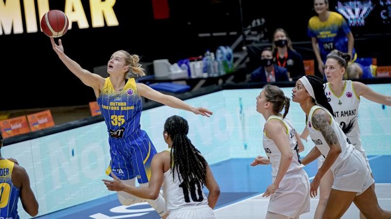 Kate Krēsliņa. Foto: FIBA