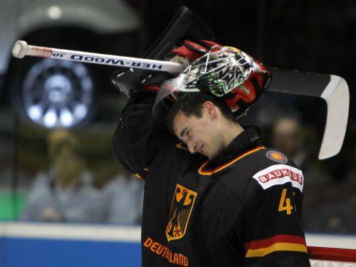 Pasaules hokeja čempionāta MVP - Vācijas vārtsargs Endrass