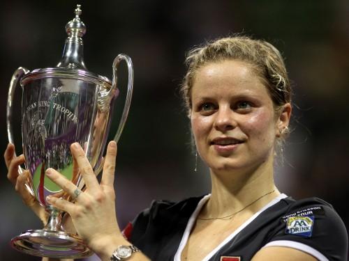 "Klijstersai trešais ""WTA Championships"" tituls"