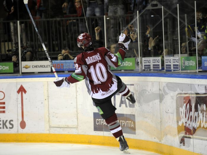 Dārziņš - KHL nedēļas labākais uzbrucējs