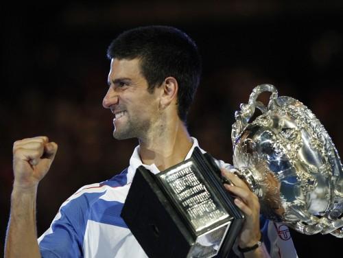 """Džokovičs otro reizi triumfē """"Australian Open"""""""