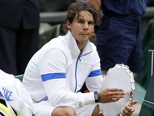 """Nadals: """"Zaudēju, jo spēlēju pret labāko pasaulē"""""""