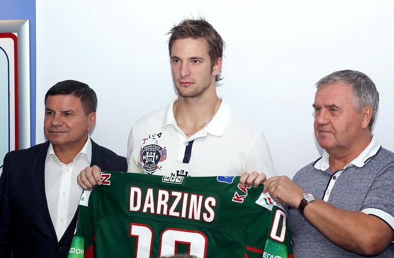 """Dārziņš: """"Man bija iespēja spēlēt NHL"""""""