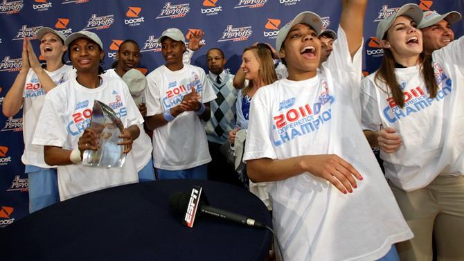 WNBA finālā Atlanta un Minesota