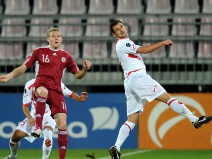 Rudņevs atklāj rēķinu izlasē, Latvija pārspēj Maltu