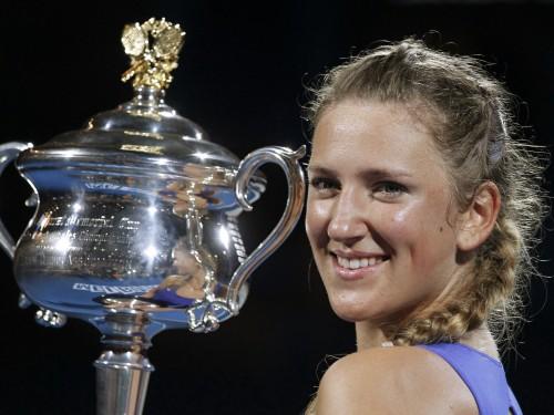 """Azarenka sagrauj Šarapovu, izcīnot pirmo """"Grand Slam"""" titulu karjerā"""