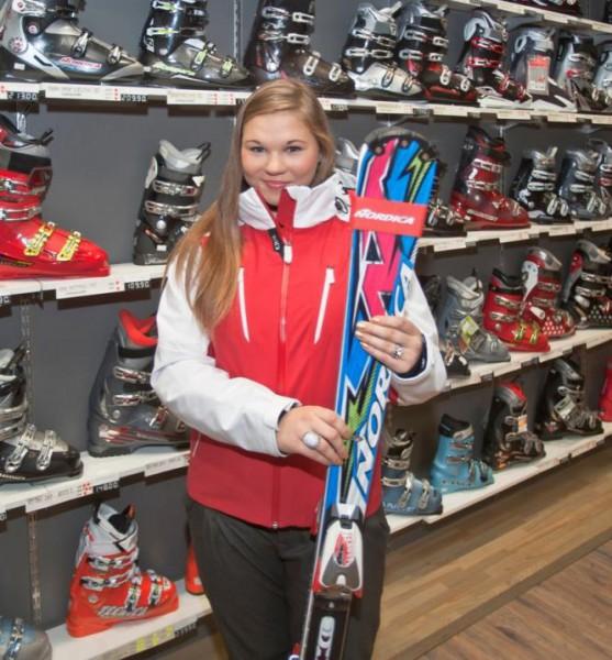 Agnese Āboltiņa labākā no mūsējiem slalomā Somijā