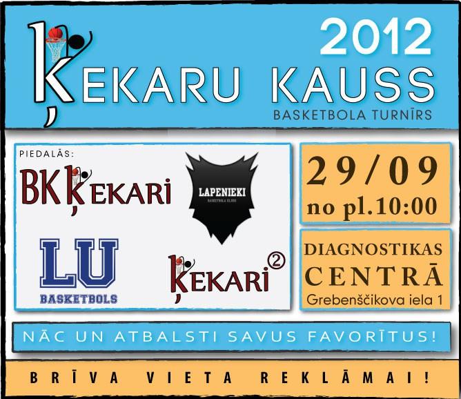 Jau šo sestdien, Ķekaru kauss 2012
