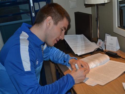 """Fertovs paraksta līgumu ar Ukrainas Premjerlīgas klubu """"Sevastopol"""""""