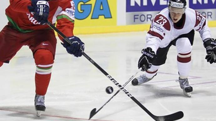 Latvija pret Baltkrieviju pasaules čempionātos