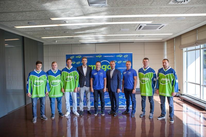 """HK """"Mogo"""" prezidents Māris Martinsons: vēlamies uzvarēt Latvijas čempionātā un spēlēt IIHF Kontinentālajā kausā"""