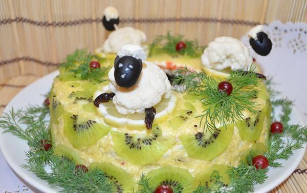 Sāļā torte ATVASARA jeb salāti katrai gaumei