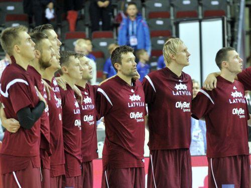 Latvijas izlases lielais mačs - astotdaļfināls pret Slovēniju