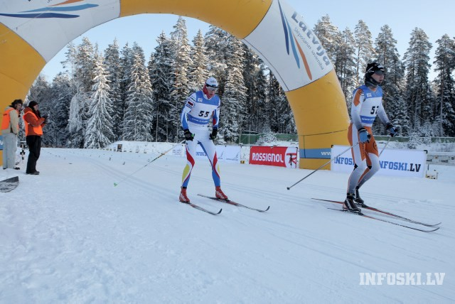 Igauņi dominē pirmajā dienā LČ 1.posmā slēpošanā