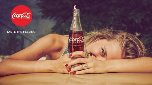 """Coca-Cola uzsāk jaunu vispasaules kampaņu """"Taste the Feeling"""""""