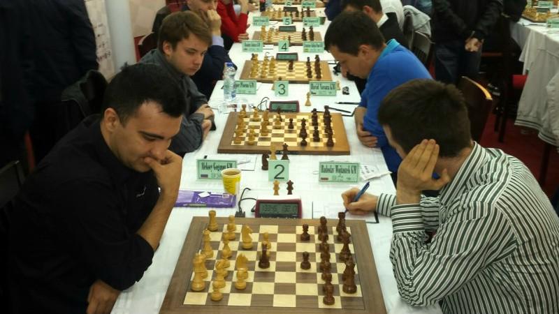 Šahists Kovaļenko trešais pirms EČ pēdējās kārtas