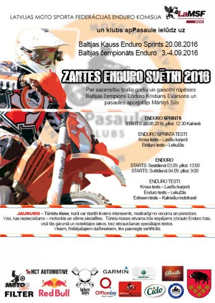 Enduro svētki Zantē jau šonedēļ – aicināts ikviens motocikla īpašnieks