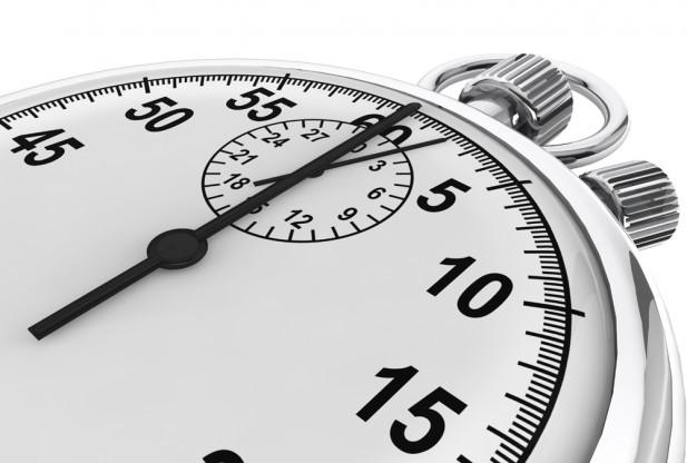 Tu nevari būt drošs par minūti, tāpēc nepalaid vējā stundu!
