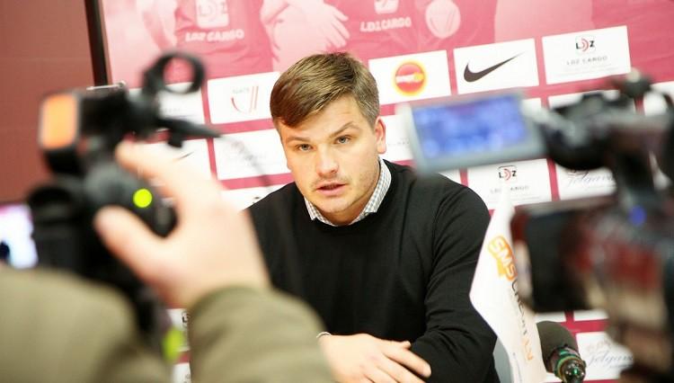"""Riherts: """"Prioritāte - futbolisti labās līgās un līdz ar to Latvijas izlasē"""""""