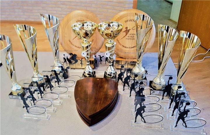 Apbalvoti Latvijas čempioni un labākie spēlētāji