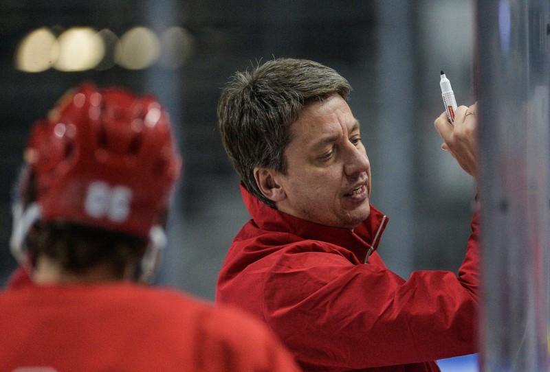 """Vītoliņš: """"Mačā pret Zviedriju varēs salīdzināt KHL un NHL līmeni"""""""