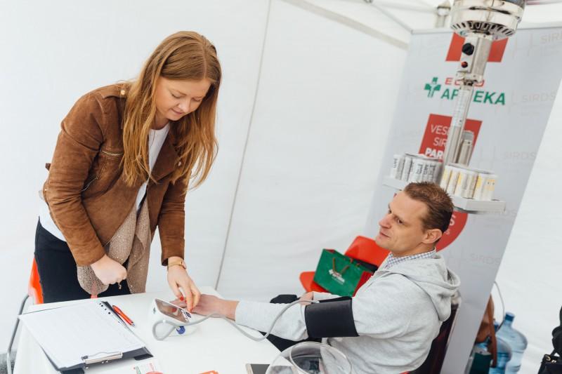 Sirds veselības dienā iedzīvotāji varēs saņemt bezmaksas konsultācijas par asinsspiedienu