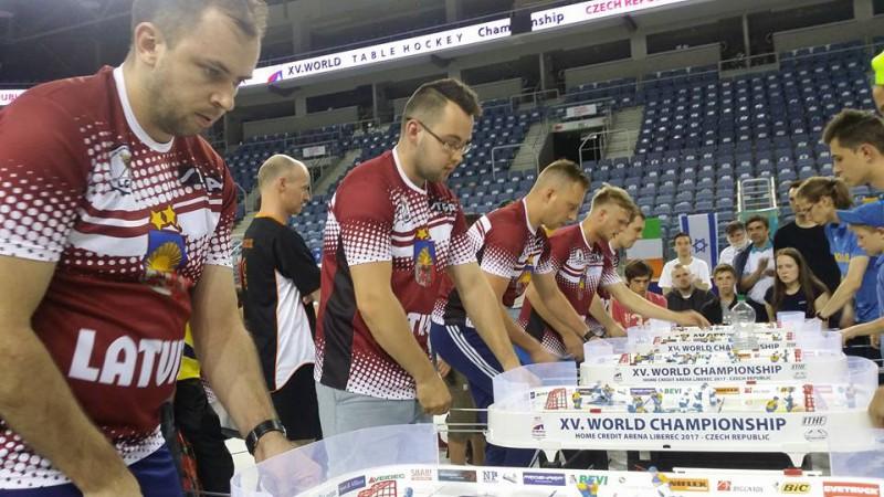 Liberecā noslēdzies Pasaules čempionāts galda hokejā