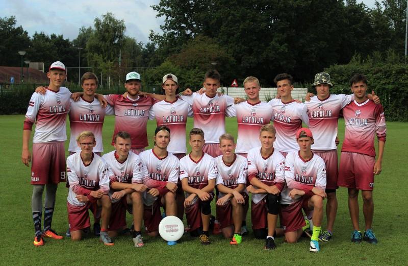 Latvijas junioru izlase izcīna 6. vietu Eiropā