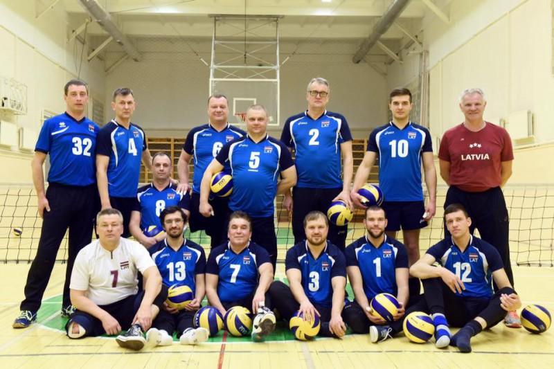 Latvijas sēdvolejbola izlase dodas uz Eiropas čempionātu