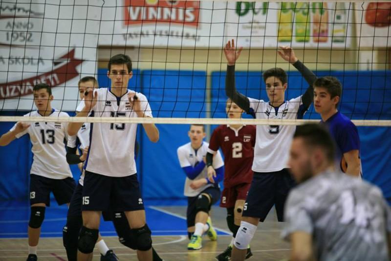 Jaunie volejbolisti dodas uz pārbaudes spēlēm Somijā